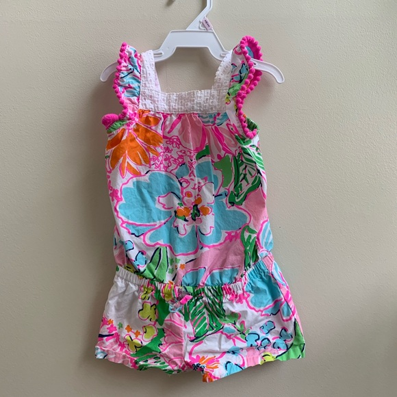 Lilly Pulitzer for Target Other - Lilly Pulitzer 12m girls Romper